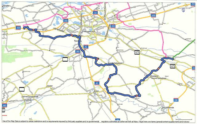Route deel 1